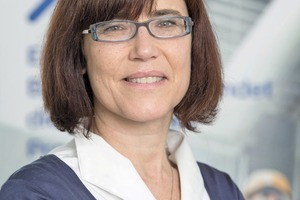 """<div class=""""bildtext_en"""">Dr. Roberta Magarotto (BASF) has received an award for her outstanding contributions in the area of concrete technology</div>"""