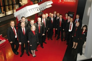 "<span class=""bildunterschrift_hervorgehoben"">Fig. 5</span> Kobra Formen GmbH sales team at the bauma 2010 stand.<br />"