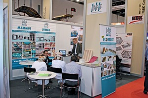 """<div class=""""bildtext_en"""">The Big 5 Dubai as a whole attracted many visitors, as here at the joint booth of the German suppliers BFS, MBK and Intexmo</div>"""