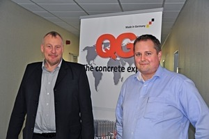 """<div class=""""bildtext_en"""">Sales Manager Heiko Boes (left) and the technical manager Wolfgang Hülsebus are proud of their young team in Emden</div>"""
