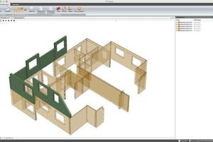 The scheduled assembly sequence can be visualized if a fourth dimension (time) is added to the 3D BIM model