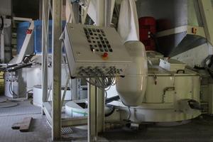 Vorsatzmischer (vorne) und Mischer für den Kernbeton (hinten) stammen ebenfalls aus dem Hause Top-Werk