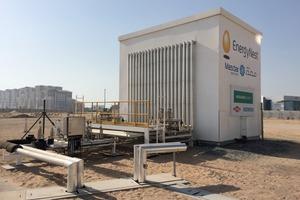 "<div class=""bildtext_en"">→ 2 Module of concrete for thermal storage in Masdar City </div>"