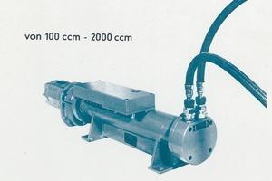 """<span class=""""bildunterschrift_hervorgehoben"""">Fig. 2</span> Fine metering machine in an old advertisement (1962).<br /><span class=""""bildunterschrift_hervorgehoben"""">Abb. 2</span> Frühere Werbung für das Feindosiergerät (1962).<br />"""