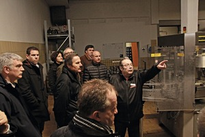 """<div class=""""bildtext_en"""">A guided tour around the production of the volcano brewery in the town of Mendig in the German Eifel region</div>"""