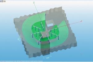 """<span class=""""bildunterschrift_hervorgehoben"""">Abb. 8</span> 3D-Modell einer a) monolithischen Platte mit Öffnung und b) einer Filigrandecke.<br />"""