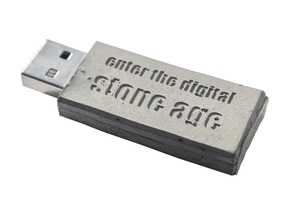 Fig. 4 Concrete flash drive