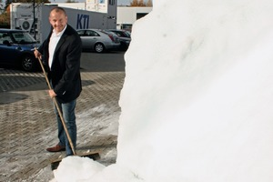 The new Managing Director, Andreas Eyd, is neither afraid of big tasks, nor huge icebergs