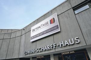"""<div class=""""Eventbox Text"""">Hochkarätigen Wissenstransfer rund um die Betonfertigteilindustrie bieten auch die 59. BetonTage vom 24. bis 26. Februar 2015 im Edwin-Scharff-Haus in Neu-Ulm</div><div class=""""Eventbox Text""""><a href=""""http://www.betontage.de"""" target=""""_blank"""">www.betontage.de</a></div>"""