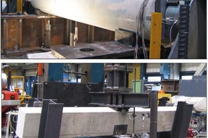 → 1 Shear tests of beams with a circular section or inclined shear load