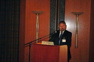 Dr.-Ing. Ulrich Palzer welcomed the many participants of the event, the same as last year