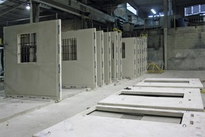 Assembly of the wall elements