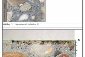 """<div class=""""bildtext_en"""">→ 1 Concrete with high acid resistance– examination of thin sections</div>"""