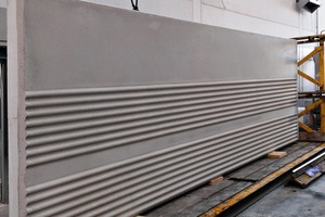 """<div class=""""bildtext_en"""">Wall element made of white concrete with Concrix </div>"""