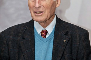 "<div class=""bildtext_en"">The founder of Schöck Bauteile GmbH, Eberhard Schöck, celebrated his 80<sup>th</sup> birthday on 26 April </div>"