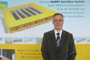Dr.-Ing. Peter Dauben will ensure the growth of Rampf Formen GmbH on the global markets