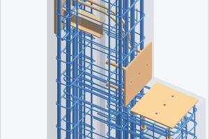 3D column designed with Strakon