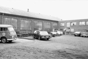 Historische Aufnahme des Avermann Firmengeländes aus den Gründerjahren