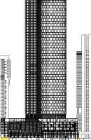 Fig. 4b Scheme of the large  scale Main Tower project.