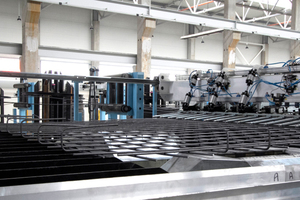 """<div class=""""bildtext_en"""">The project included the supply of n.3 high-speed automatic mesh welding lines model Flexiweld 3600 SW-SF, suitable to produce flat and bent meshes in large quantities</div> <div class=""""bildtext_en""""></div>"""
