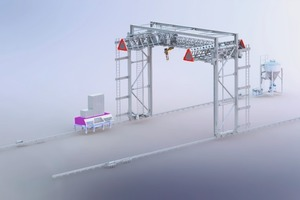 """<div class=""""bildtext_en"""">In order to obtain large building spaces, 3D printers are built according to the principle of a portal crane structure</div>"""