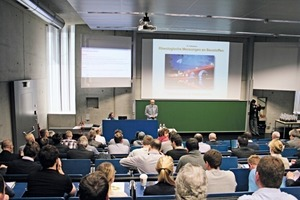 "<div class=""bildtext_en"">Prof. Dr. Wolfgang Kusterle will welcome again the numerous participants coming from all over the world to the 24th workshop and colloquium on rheological measurement of building materials at the OTH Regensburg</div>"
