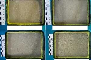 """<div class=""""bildunterschrift_en"""">→ 2 Specimens after 56 freeze/thaw cycles in the modified slab test in accordance with DINEN1338, AnnexD</div>"""
