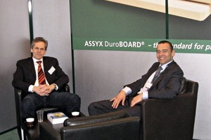 "<div class=""bildtext_en"">Manfred Kessler (left) and Alfred Rochlus manage the business of Assyx</div>"