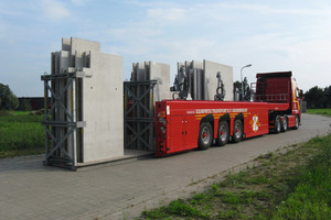 Der Flatliner: optimiert für den Transport von Betonfertigteilen<br />