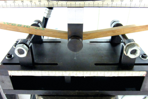6a Three-point bending test: bamboo composite …