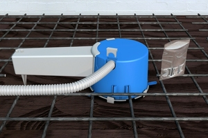 Installation conduits of type M20 or M25 can be pushed through the openings