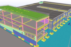 Collaboration, design and production status management, and accurate model information...