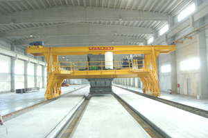 Spancrete GT-240 Production System for producer Mucic & Co. located in Croatia