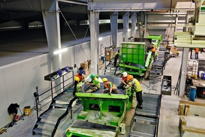 """<div class=""""bildtext_en"""">Segment production for the 8,806m long Bossler Tunnel: the tried-and‑tested carousel production system using Herrenknecht Formwork equipment provides highest reliability</div>"""