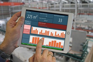 "<div class=""bildtext_en"">A digital control panel on the tablet provides a fast overview of the most important key production figures</div>"