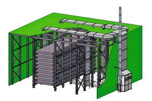 """<div class=""""bildtext_en"""">3D scheme of a curing chamber with CureTec heating system</div>"""