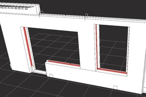 Fig. 6, 7 and 8 Even tricky details are easy to plan using the new 3D features.