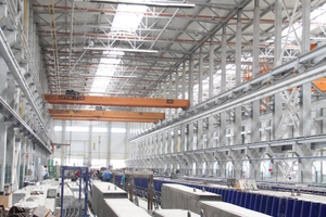 """<div class=""""bildtext_en"""">Weckenmann delivered special formwork for special elements, e. g. three tandem beam molds, featuring a length of 75 m each</div> <div class=""""bildtext_en""""></div> <div class=""""bildtext_en""""></div>"""