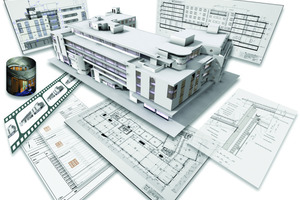 Modeling instead of drawing: the automated generation of plans and visualizations is just one of the many benefits offered by BIM