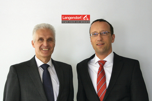 Dr. Klaus P. Strautmann (left) and Jens Daniel (right), the new Managing Directors of Langendorf GmbH
