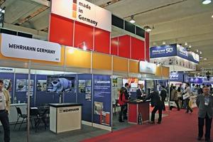 """<div class=""""bildtext"""">Im deutschen Pavillon zeigten mehrere Anbieter Anlagentechnik """"Made in Germany""""</div>"""
