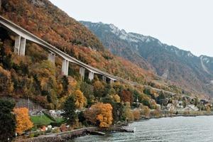 """<div class=""""bildtext"""">Sanierung der Schweizer Autobahnbrücke mit Hilfe der SBM Betonmischanlage</div>"""