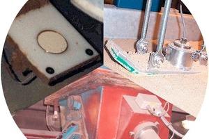 "<span class=""bildunterschrift_hervorgehoben"">Fig. 2 </span> Installation of the microwave probe for measurements of the bulk material.<br />"