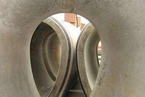 Die Rohre wurden von der Berding Beton GmbH nach den Qualitätsrichtlinien der FBS gefertigt<br />