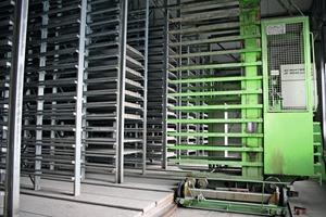 """<div class=""""bildtext"""">Die Lagerkapazität in der Pflastersteinproduktion ist für insgesamt 4.800Steine ausgelegt</div>"""